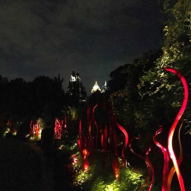 Chihuly in the Garden