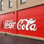 World's First Coca Cola Wall Sign