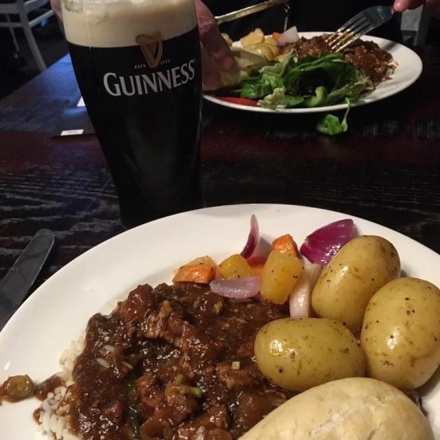 Dinner at the Guinness Storehouse