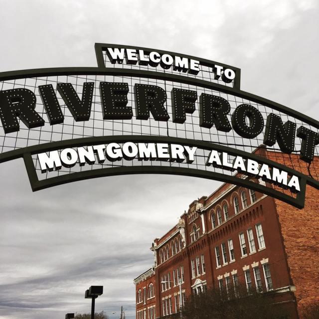 Downtown Montgomery, Alabama