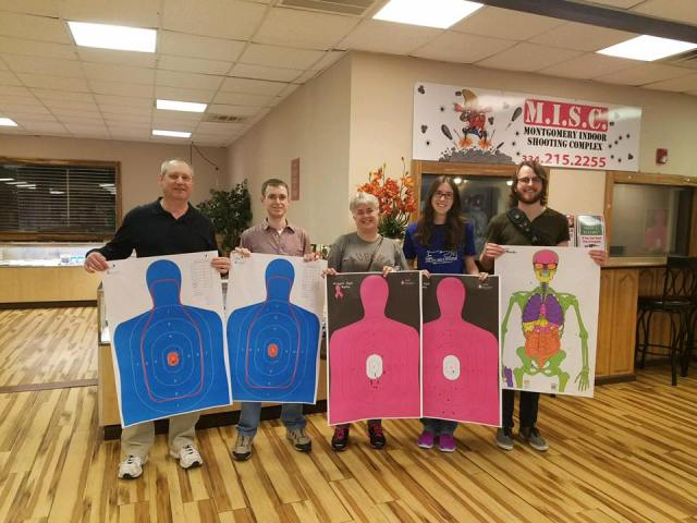 Family Shenanigans at the Montgomery Indoor Shooting Complex