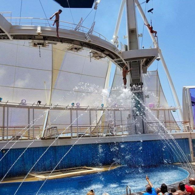 Oasis of the Seas AquaShow