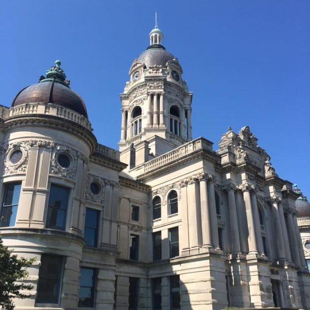 Old Vanderburgh County Courthouse, Evansville, Indiana