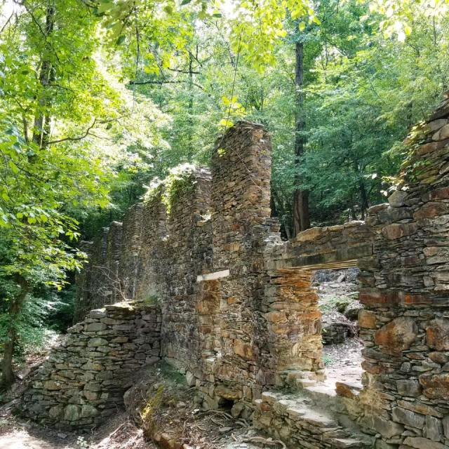 Sope Creek Paper Mill Ruins