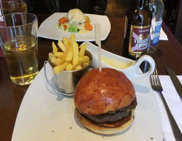 Haggis Burger