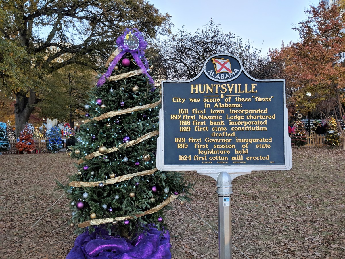 How to Spend Christmas in Huntsville