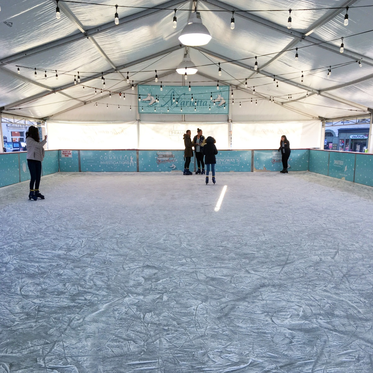 Where to Go Outdoor Ice Skating in Atlanta