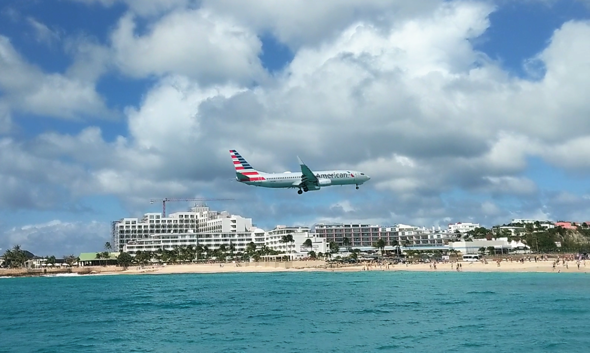 Snorkeling and Planespotting at Maho Beach, St. Maarten