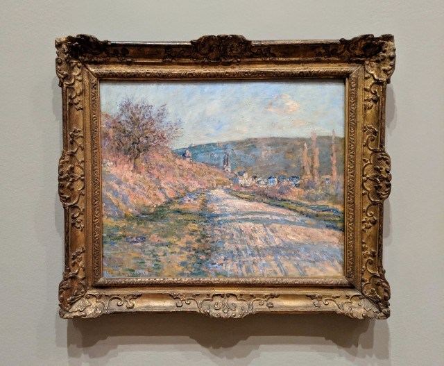 The Road to Vétheuil, Monet