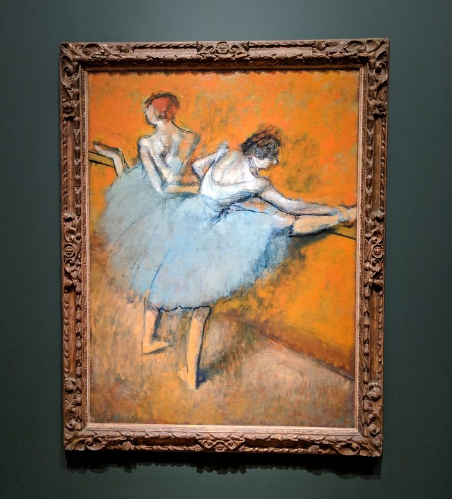 Dancers at the Barre, Degas