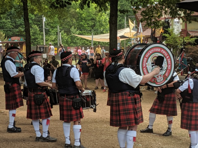 Highland Weekend at the Georgia Renaissance Festival