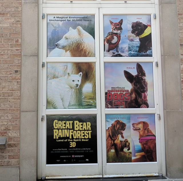 Fernbank Museum of Natural History Giant Screen Theater Showings
