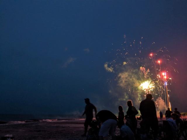 Fireworks at Fernandina Beach